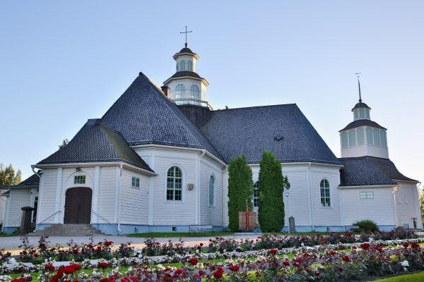 ilmajoen kirkon ulkokuva