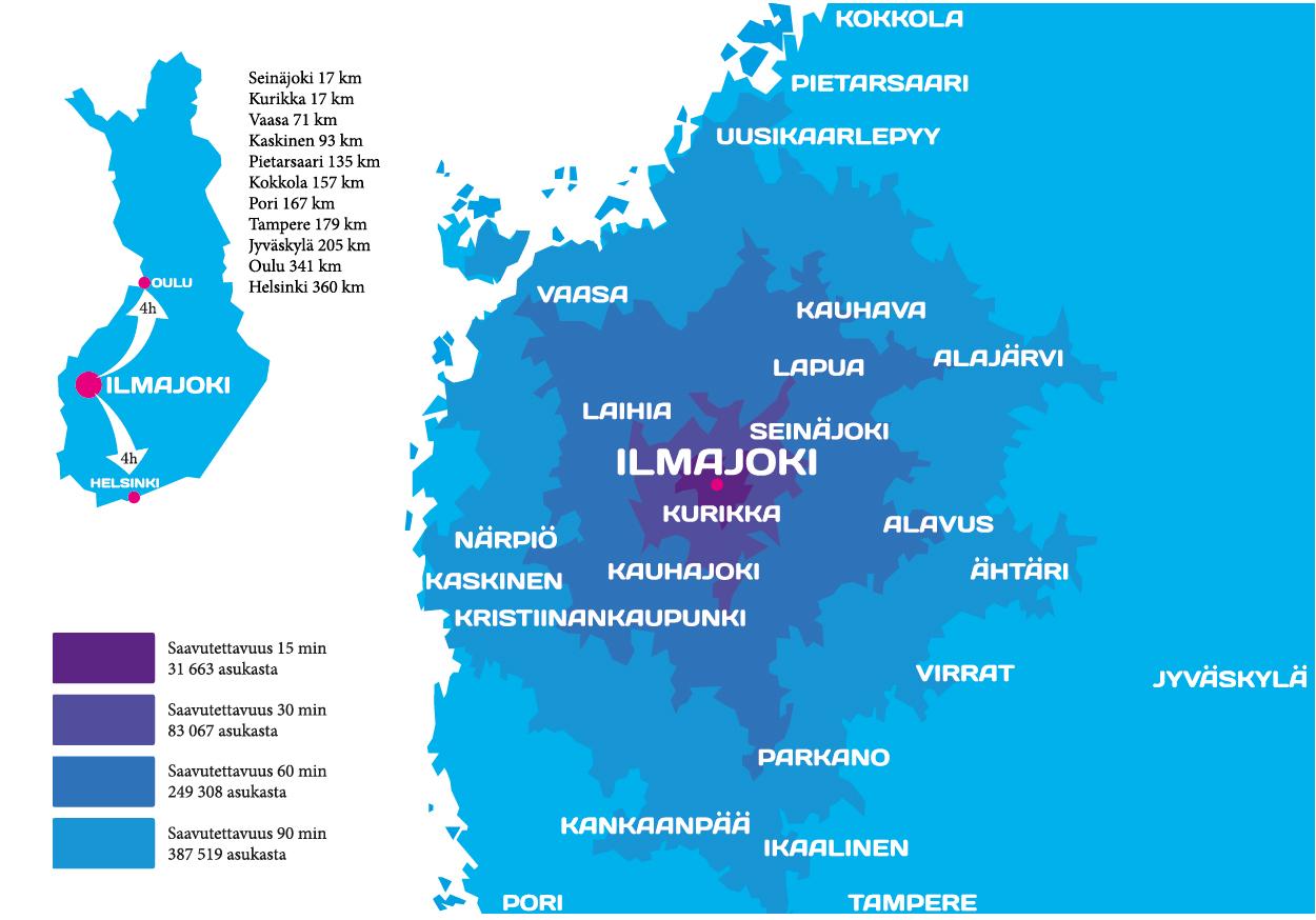 ilmajoki suomen kartalla
